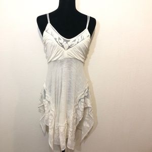 NEW Free People Small Ivory embellished boho top